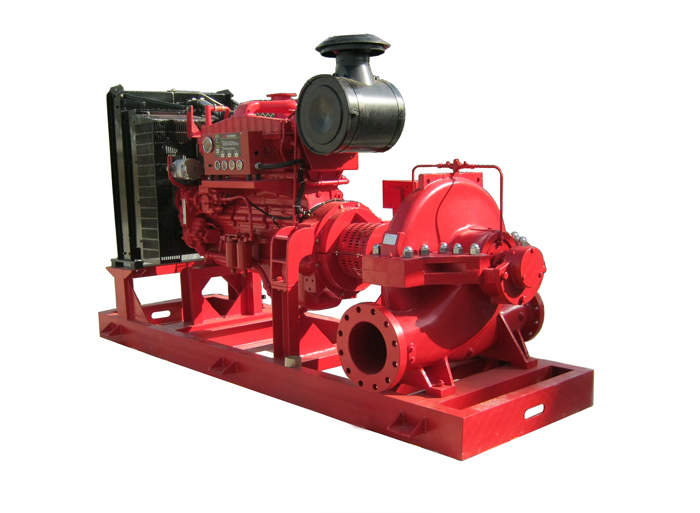 Split case pump XSF series (Fire Fighting)