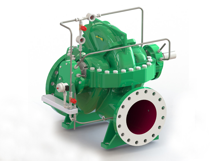 Split case pump XSR series (Hot Water)